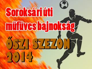 SORI Liga 2014 őszi indexkép