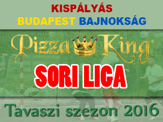 Pizza-king SORI Liga 2016 tavaszi index